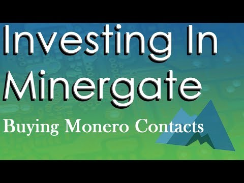 Buying Monero Mining Contracts!