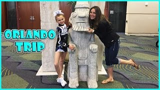 KAYLA'S COMPETITION IN ORLANDO| VISITED THE FLORIDA MALL | We Are The Davises