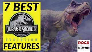 T-Rex Fights, Raptor Attacks And 5 More Jurassic World Evolution Features You'll Love