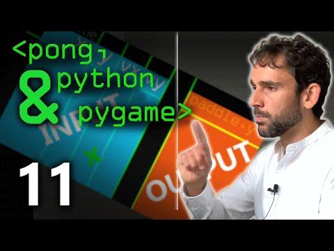Pong, Python & PyGame 11 - Computerphile