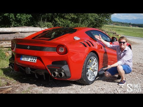 My First Drive in the Ferrari F12 TDF!