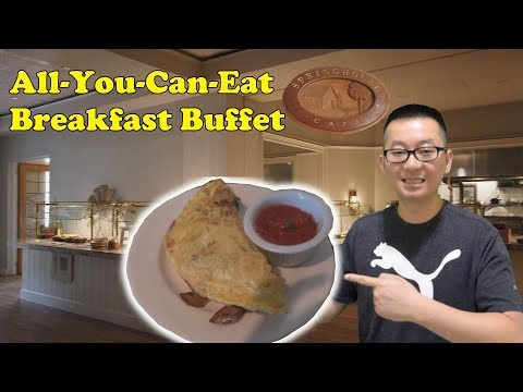 Breakfast Buffet @ The Hyatt Regency Hill Country Resort And Spa | San Antonio, Texas
