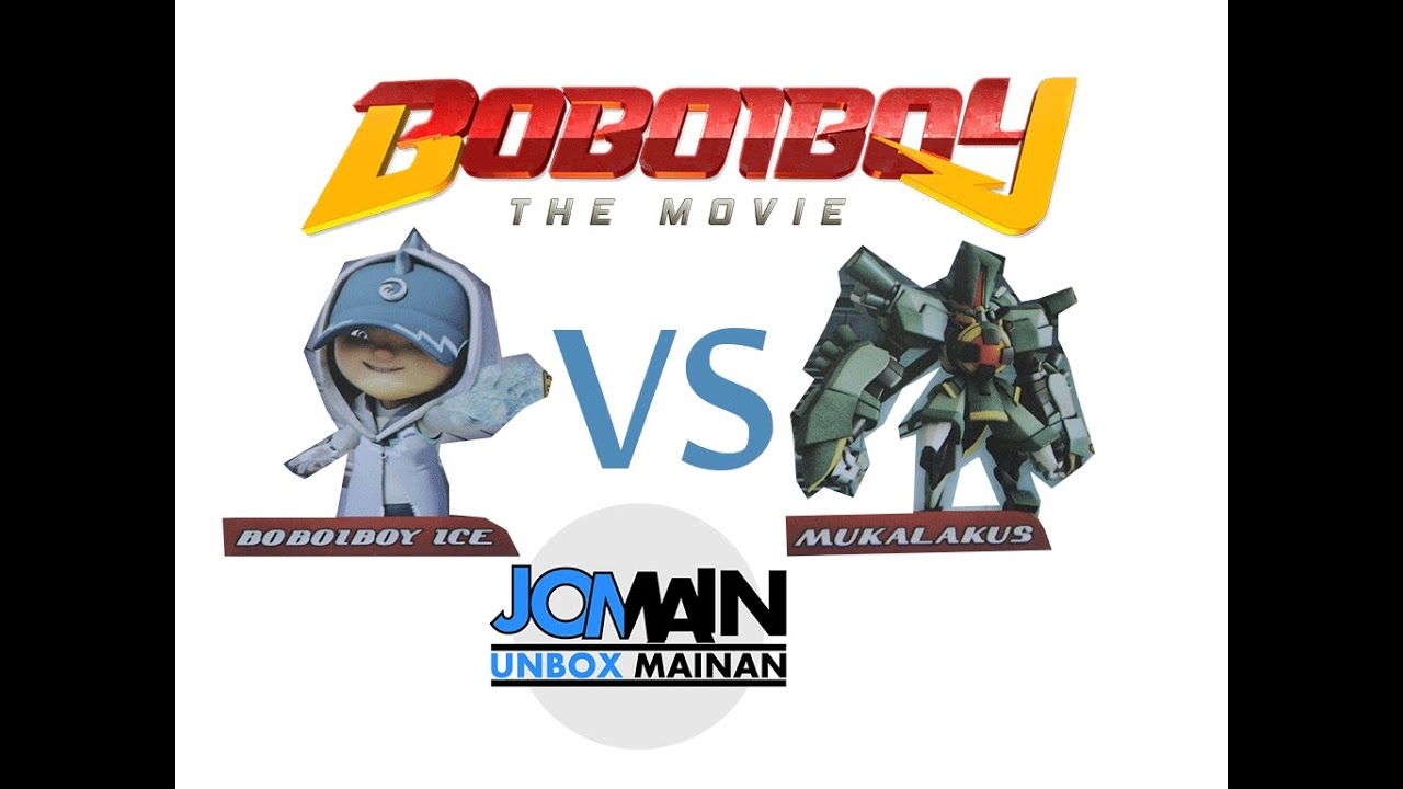 Boboiboy Ice Vs Mukalakus Arcade Battle Augmented Reality Boboiboy