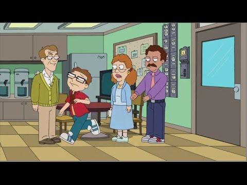 American Dad! Teachers Beat Up Steve