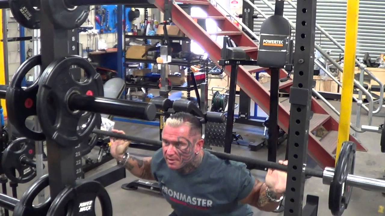 Lee Priest Addresses the Squat Police - YouTube