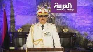 حفتر يجري محادثات في أبوظبي مع الشيخ محمد بن زايد