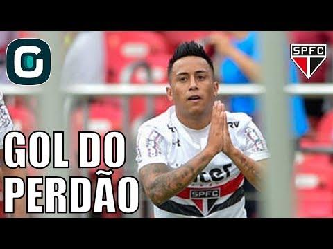 São Paulo 2x0 Botafogo-SP   Gol De Redenção De Cueva- Gazeta Esportiva (05/02/18)