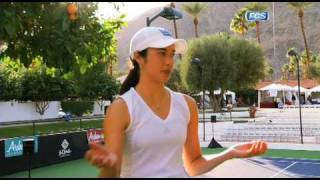 Samantha Steele exclusive interview with UCLA tennis player, Yasmin Schnack
