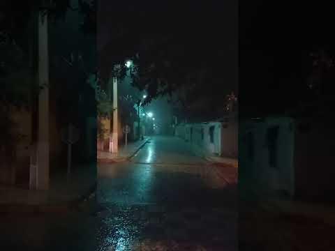 عاجل الجزائر تغرق  أمطار غزيرة