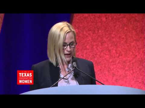 Patricia Arquette Talks Equality at the 2015 Texas Conference for Women