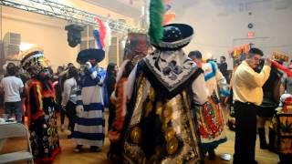 LOS CHINELOS DE MORELOS EN NEW JERSEY EN HONOR A EL SANTITO DE XOCHITLAN