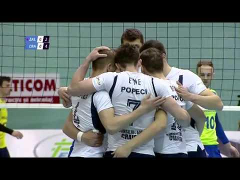 Bogdan Ene ,position 4 ,# 7, white team , Zalau-Craiova 3-2, 3rd game Final