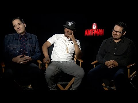 David Dastmalchian, T.I., & Michael Peña on Marvel's 'AntMan'