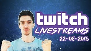 TWITCH LIVESTREAMS 22-08-2016 - Football Manager 2016
