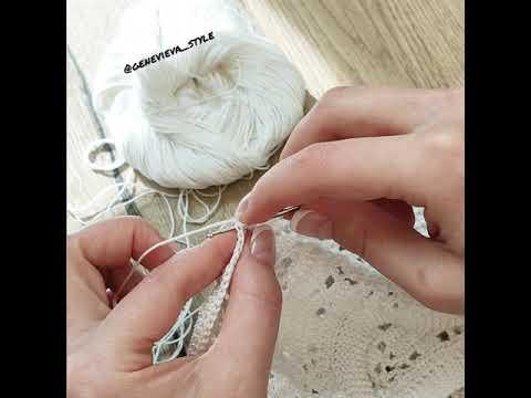 Удлинённый (патентный) столбик с накидом для филейного вязания