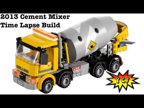 Lego City 60018 Cement Mixer Time Lapse Brick Build Lego 60018