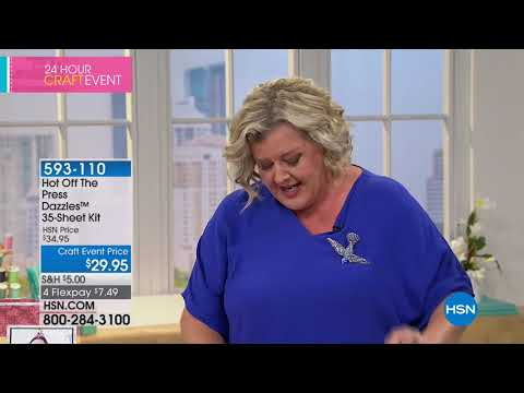HSN | Paper Crafting Tools & Supplies featuring Card Making 03.07.2018 - 01 AM