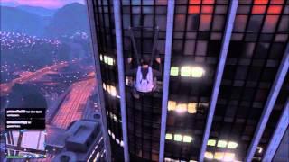GTA V Online Ab ins IAA Gebäude (Jet Pack gefunden?)