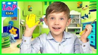 Learning colors for children | Fun Play with Watercolor Paints for kids