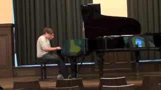 KlavierDuo Philipp & Rami 2012, Antonín Dvorák (1841-1904), Slawischer Tanz op.46 Nr. 2 e-Moll;