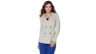 Liz Lange Sweater Knit Pea Coat