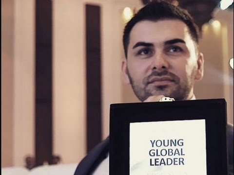 Middle East Top Young Enterpreneur Saygin Yalcin at Middle East Investment Conference-CFA Institute