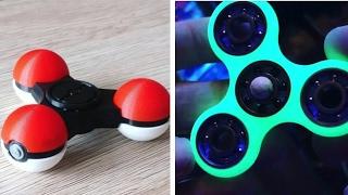 5 Fidget Spinner INCREIBLES que puedes hacer tu mismo, los mejores Fidget Spinner Caseros, Pokemon