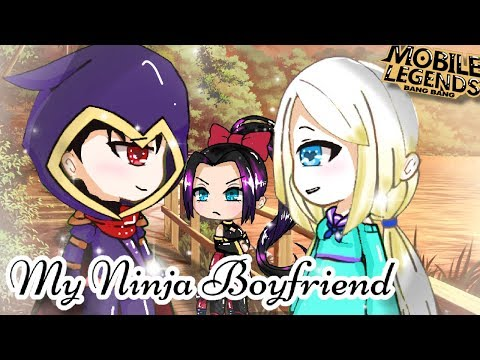 """My Ninja Boyfriend""-GACHA LIFE GACHAVERSE - GACHA LOVE STORY-MOBILE LEGENDS COUPLE-GLMM-[Seym_DNA]"