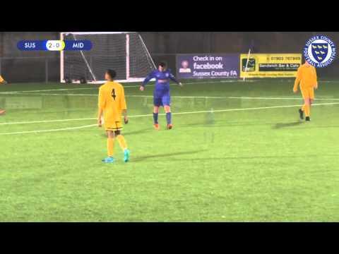 Sussex vs. Middlesex (under-16s) - 17-02-16