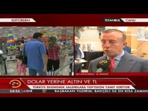 Ali Ağaoğlu'ndan Cumhurbaşkanı Erdoğan'ın TL çağrısına yanıt geldi