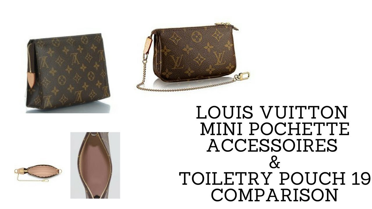 28b61f87ad12 LOUIS VUITTON MINI POCHETTE ACCESSOIRES   TOILETRY POUCH 19 COMPARISON 1
