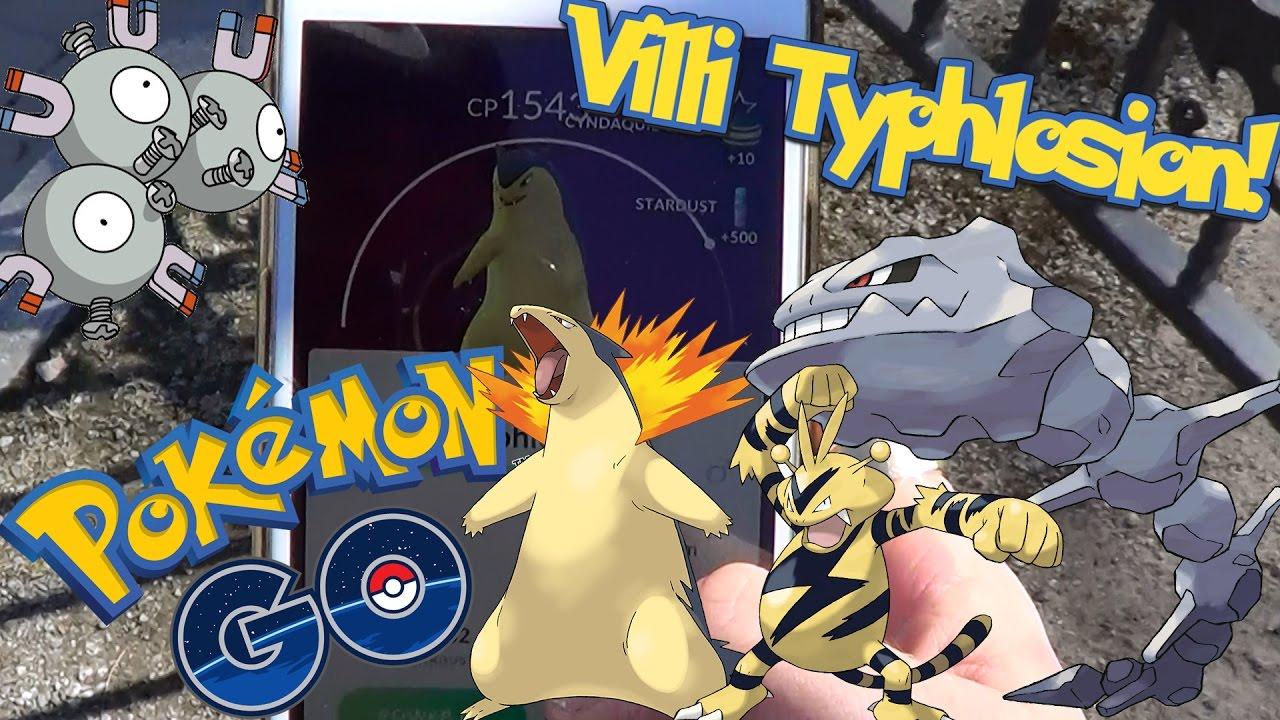 Pokemon GO Suomi - VILLI TYPHLOSION!! UUSIA POKEMONEJA! - YouTube