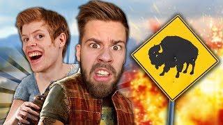 VAD ÄR DET SOM HÄNDER!? | Far Cry 5 Co-op med STAMSITE #1