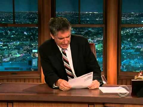 Late Late  with Craig Ferguson 8102009 Carrot Top, Alexis Bledel