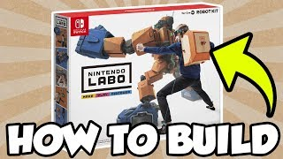 How To Build Nintendo Labo: Toy-Con 02 Robot Kit! [🔴LIVE]