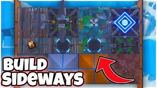 Comment faire pour 'BUILD SIDEWAYS' à Fortnite (Saison 8 Glitch)