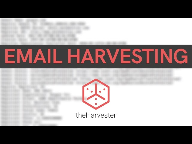 Passive Reconnaissance - Email Harvesting With theHarvester