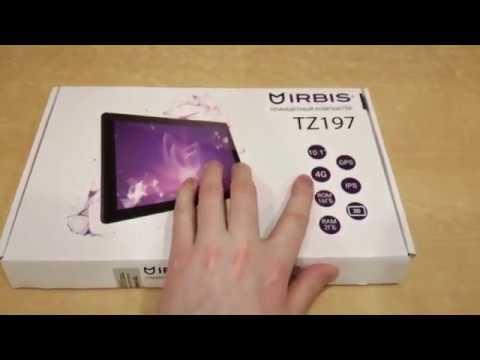 Отзыв-обзор планшета Irbis Tz197
