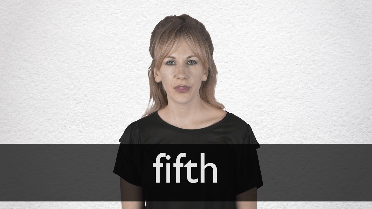 How to pronounce FIFTH in British English