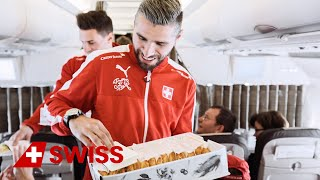 Swiss national football players on board for big surprise | SWISS