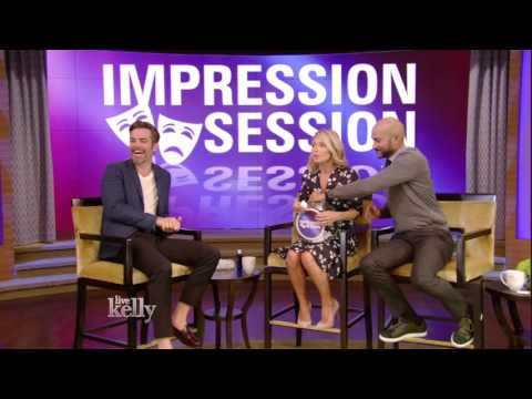 Impression Session with Chris Pine and Keegan-Michael Key