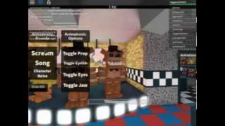 five nights at freddys on roblox