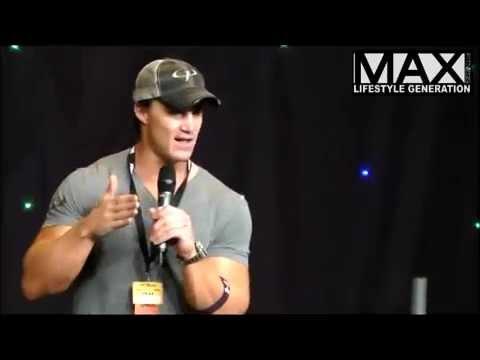 Max Fitness (Lifestyle Generation) - Greg Plitt Seminar (live), BodyPower 2014