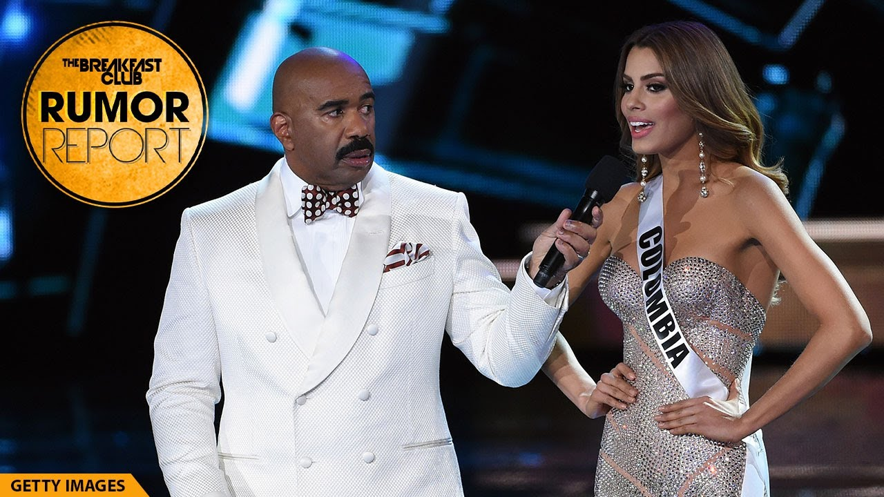 Steve Harvey Recounts His Disastrous 'Miss Universe' Flub