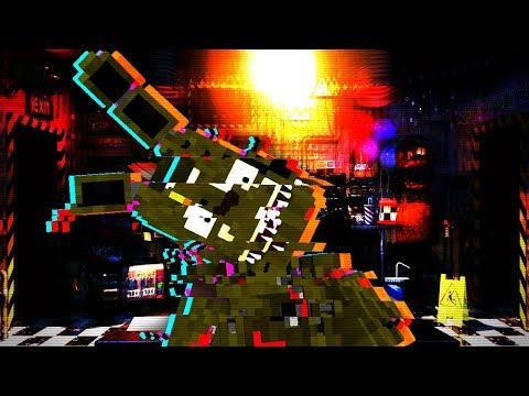Minecraft FNAF: The Glitch! Night 7 (Minecraft FNAF Ultimate Custom Night Roleplay)