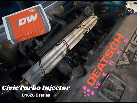 Honda Civic Turbo Injectors (Finally We Get Answers) LIL RANT Deatschwerks Saves The Project