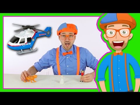 Thumbnail: Helicopter Toy with Blippi Toys | Videos for Preschoolers