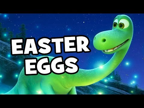 Pixar's The Good Dinosaur EASTER EGGS & References