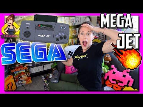 *ULTRA RARE* Sega Mega Jet - UNBOX and TEST! Shocked at the PAL Game test