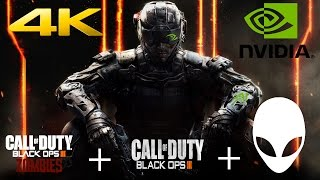 Alienware Area 51 Call of Duty: Black Ops 3 Gameplay Campaign & Zombies-4K 60FPS-GTX980 SLI